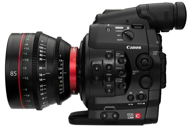 Canon EOS C300 Digital Cinema Camera - Left