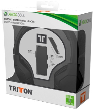 Tritton Trigger Stereo Headset for Xbox 360 - Box
