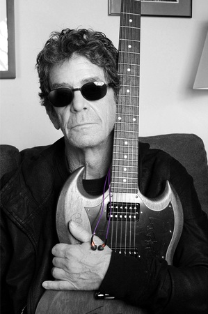 Lou Reed with Limited Edition X10i In-Ear Headphones