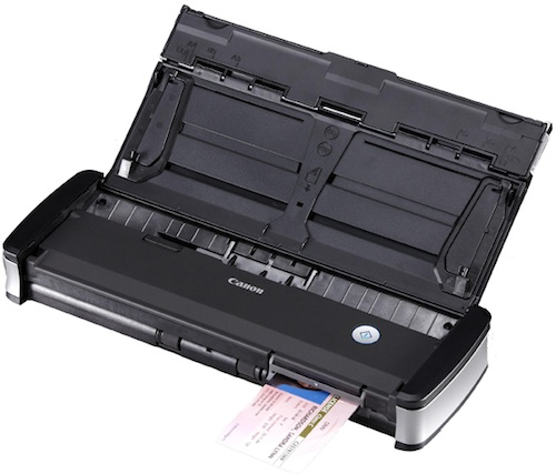 Canon imageFORMULA P-215 Scan-tini Personal Document Scanner with Card