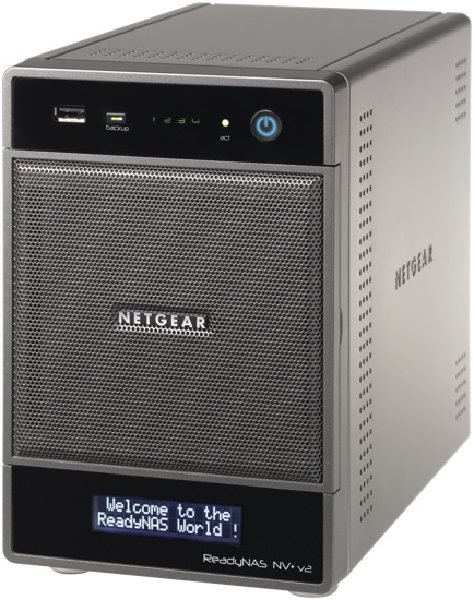 NETGEAR ReadyNAS NV+ v2 Network Storage