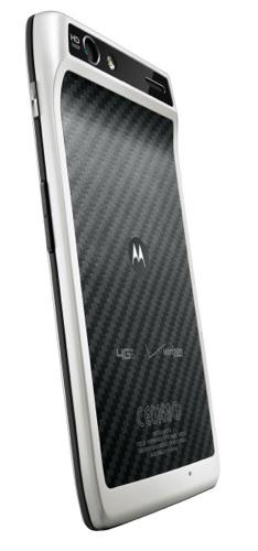 DROID RAZR by Motorola 4G LTE Smartphone -Front - White