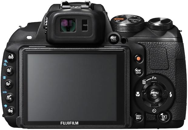 FujiFilm FinePix HS25EXR Digital Camera - back