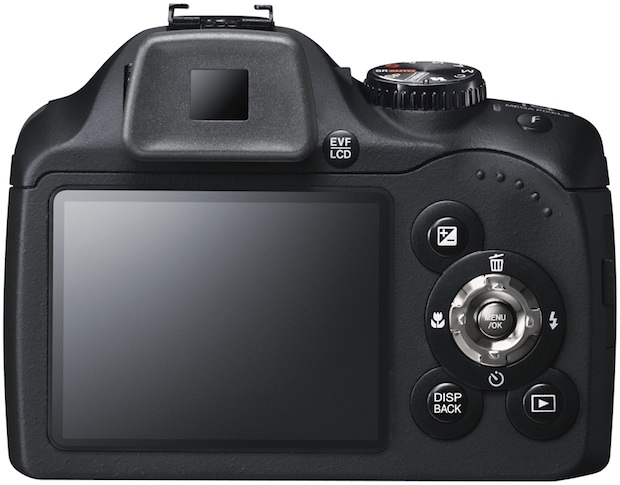 FujiFilm FinePix SL300 Digital Camera - back
