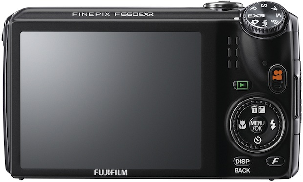 FujiFilm FinePix F660EXR Digital Camera - back