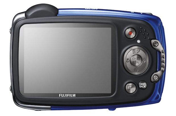 FujiFilm FinePix XP50 Rugged Digital Camera - Back