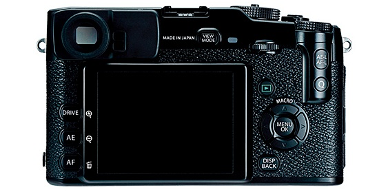 FujiFilm X-Pro1 Interchangeable Lens Digital Camera - back