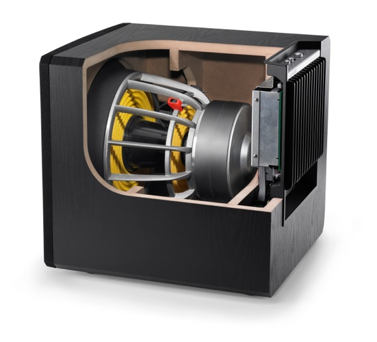 JL Audio E-112 Subwoofer - inside