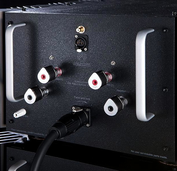Pass Labs Xs-150 and Xs-300 Mono Amplifiers - back