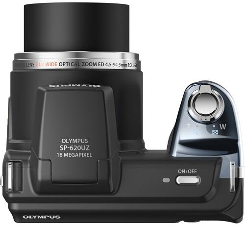 Olympus SP-620UZ Digital Camera - top