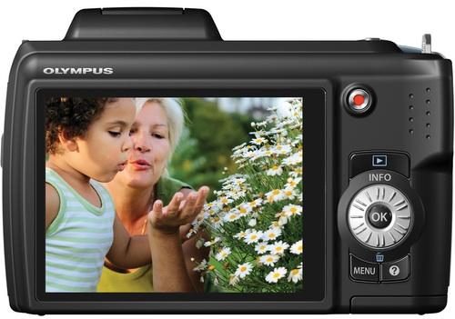 Olympus SP-620UZ Digital Camera - back