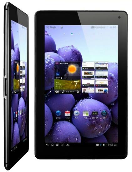 LG Optimus Pad LTE Tablet