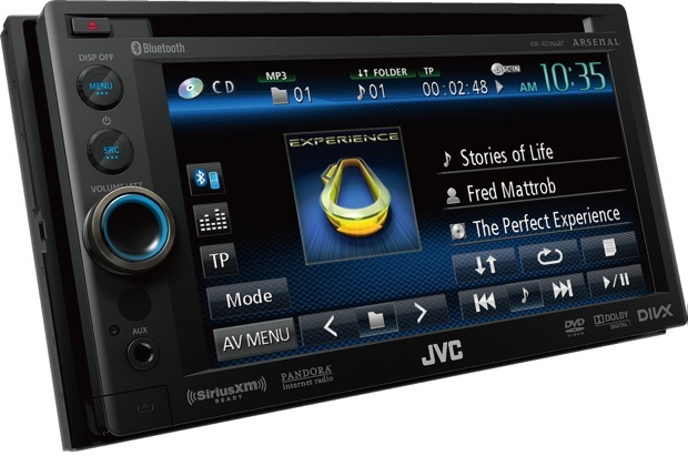 JVC Arsenal KW-AV64BT Multimedia Head Unit
