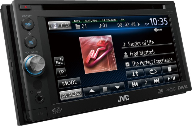 JVC KW-AV50 Multimedia Head Unit