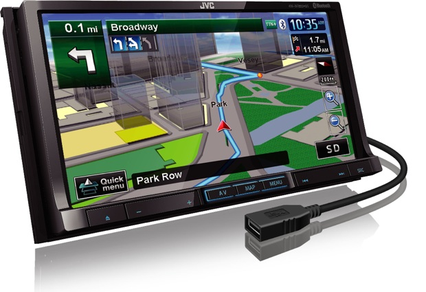 JVC KW-NT800HDT Car Navigation Head Unit