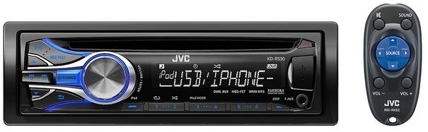 JVC KD-R530 CD Receiver