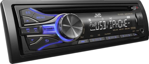 JVC KD-A535 CD Receiver