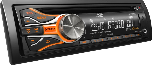 JVC KD-HDR61 CD Receiver