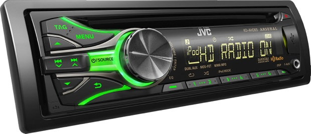 JVC Arsenal KD-AHD63 CD Receiver