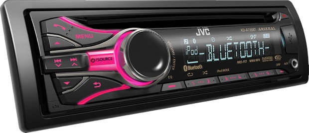 JVC Arsenal KD-A735BT CD Receiver