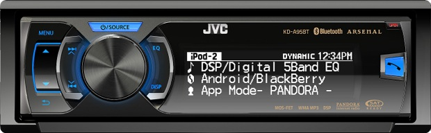 JVC Arsenal KD-A95BT CD Receiver