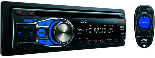 JVC KD-HDR44 CD Receiver