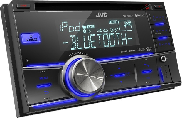 JVC KW-R800BT 2-DIN Car CD Receiver