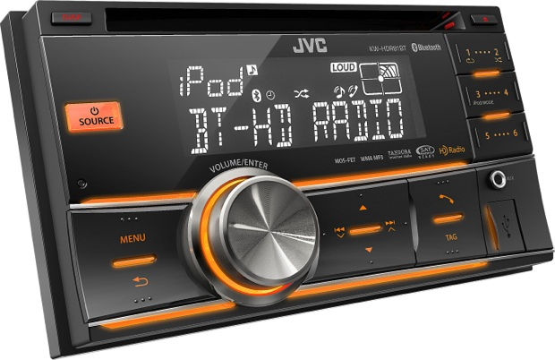 JVC KW-HDR81BT 2-DIN Car CD Receiver