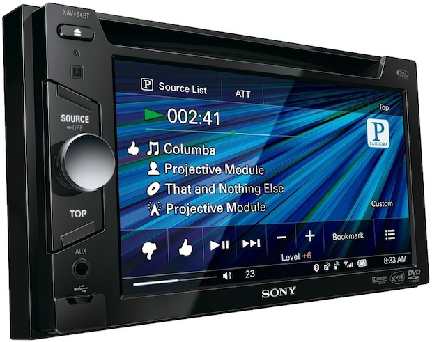 Sony XAV-64BT Head Unit
