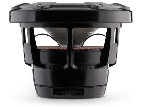JL Audio M880-CCX Marine Coaxial Speaker - side titanium