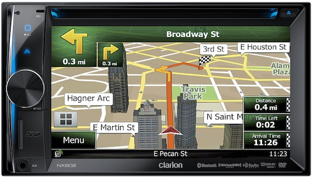 Clarion NX602 Navigation Head Unit