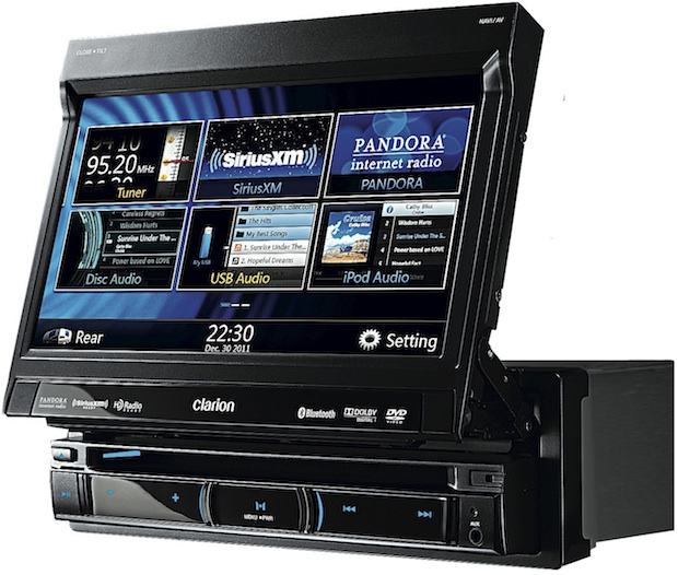 Clarion NZ502 Navigation Head Unit