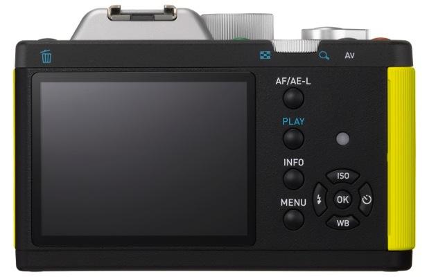 PENTAX K-01 Interchangeable Lens Digital Camera - back