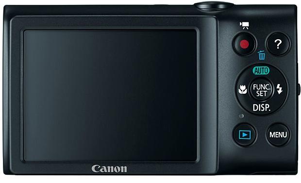 Canon PowerShot A2300 Digital Camera - Back