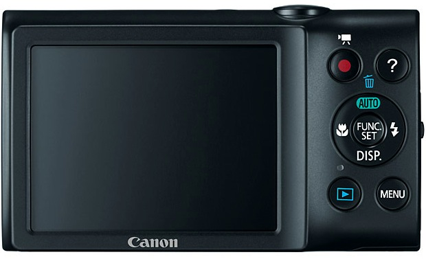 Canon PowerShot A2400 IS Digital Camera - Back