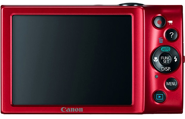 Canon PowerShot A3400 IS Digital Camera - Back