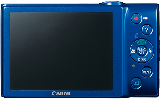 Canon PowerShot A4000 IS Digital Camera - Back