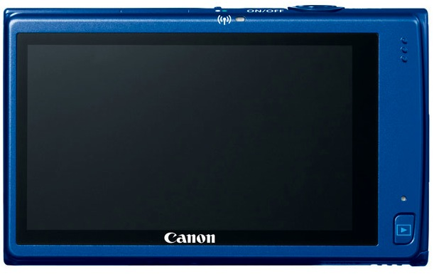 Canon PowerShot ELPH 320 HS Digital Camera - Back
