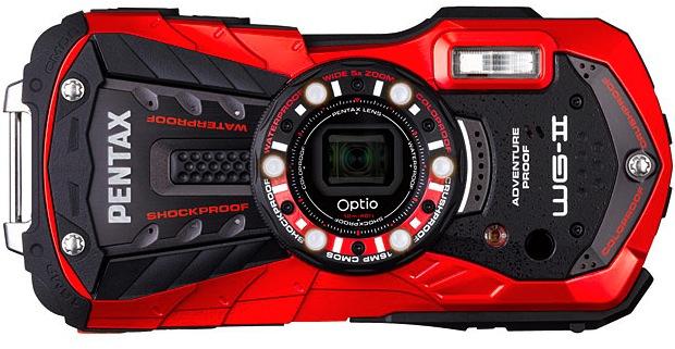 PENTAX Optio WG-2 Rugged Digital Camera - Front