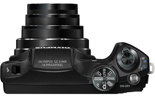 Olympus SZ-31MR iHS Digital Camera - Top