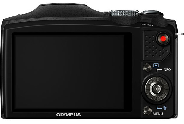 Olympus SZ-31MR iHS Digital Camera - Back
