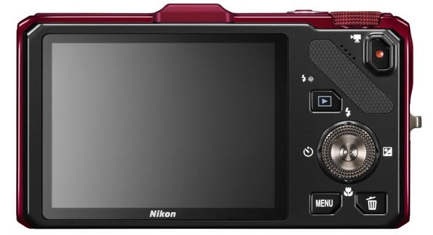Nikon COOLPIX S9300 Digital Camera - Back