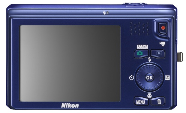 Nikon COOLPIX S6300 Digital Camera - Back