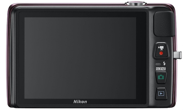 Nikon COOLPIX S4300 Digital Camera - Back