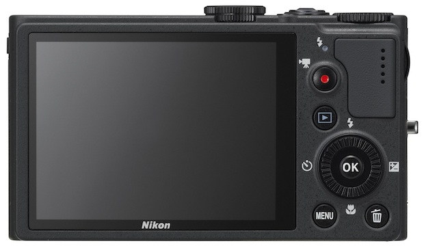 Nikon COOLPIX P310 Digital Camera - Back