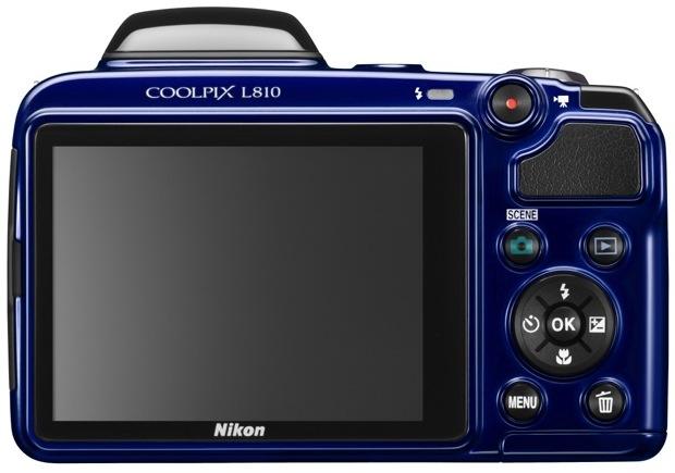 Nikon COOLPIX L810 Digital Camera - Back