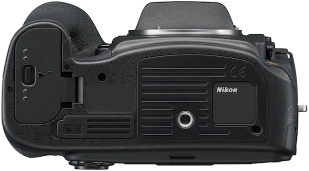 Nikon D800 HD-SLR Digital Camera - Bottom
