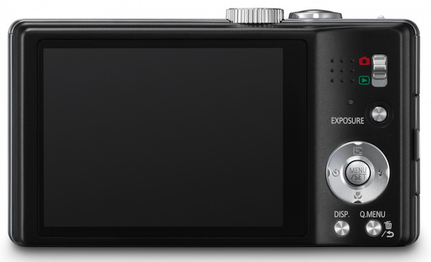 Panasonic LUMIX DMC-ZS15 and Digital Camera - back