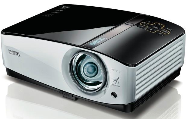 BenQ MP780 ST+ DLP Projector