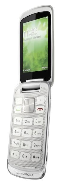 Motorola GLEAM+ Flip Cell Phone